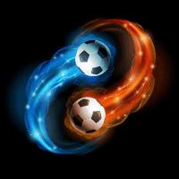 中间的足球