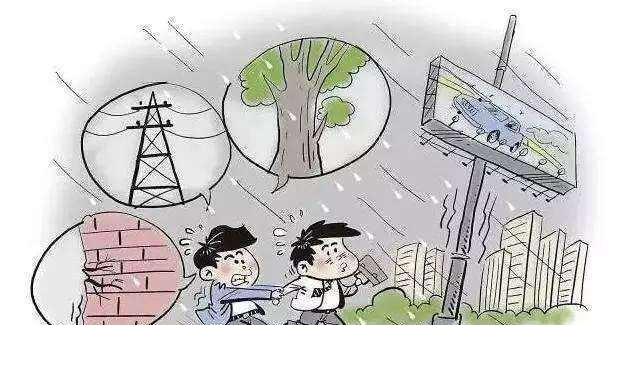 简笔画台风的画法