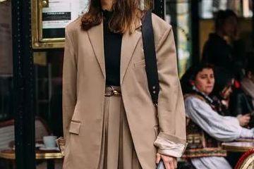 女生西装怎么搭配裙子好看?西装配裙子回头率200%
