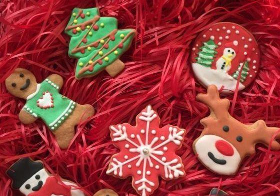 这个圣诞我既要吃的又要玩的-圣诞糖霜饼干