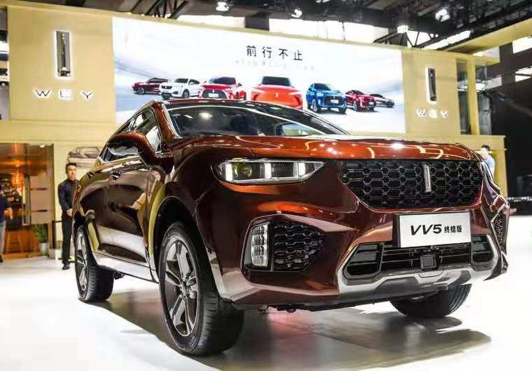 VV7销量下跌八成 长城11月份销量超13万