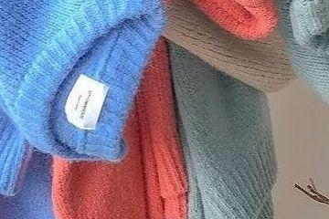 下周穿什么|毛衣,这几个颜色才叫美!!