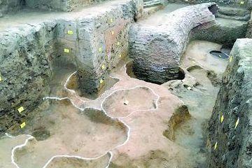 """河南南阳市发现2000多年前""""造币厂"""""""