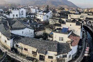 原创             中国现存最大的古村落,诗人李白都曾在此流连忘返