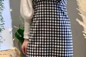 原创             这才是女人三七分的搭配指南!收腰半裙+高帮靴强化身线,绝了