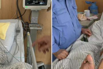 原创             抢救大脑 突破高龄禁区 为96岁老人实施静脉溶栓