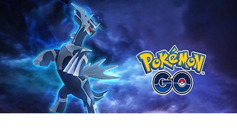 《Pokemon GO》帝牙卢卡将于传说团体战中登场