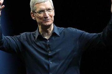 苹果CEO库克:感谢中国打开了大门,我们的未来密不可分