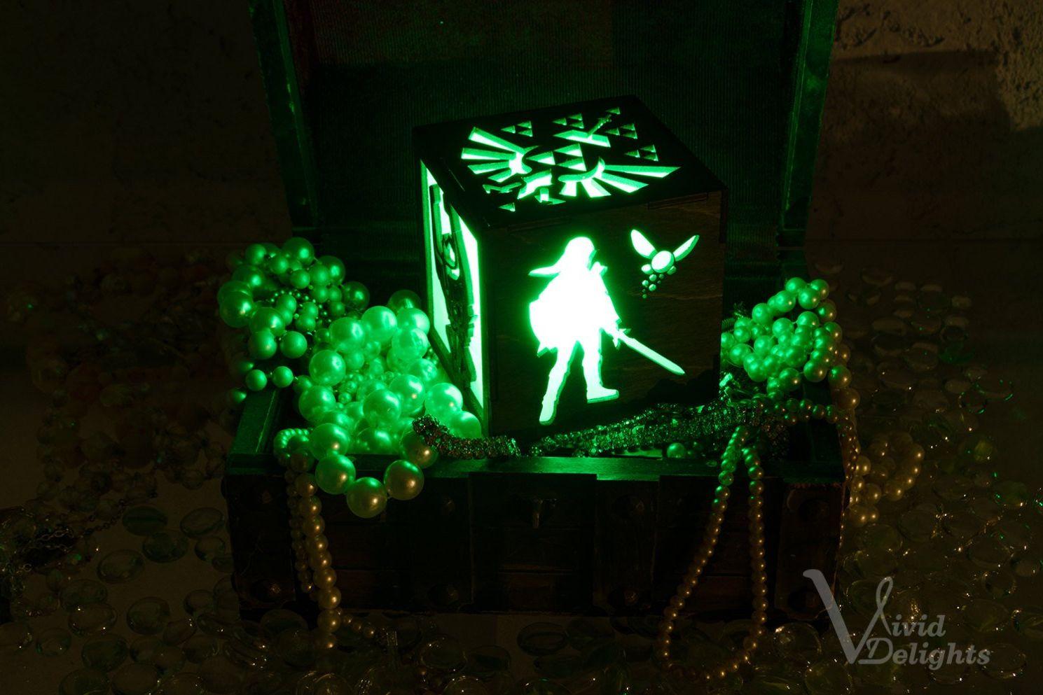 暗夜中拯救世界 玩家自制《塞尔达》超美夜灯