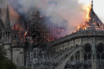 追问:巴黎圣母院哪里起火?什么原因?为何难灭?缘何不用飞机?