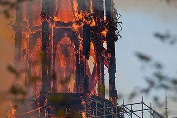 巴黎圣母院火灾:警报检查员走错地方,通电钟铃或短路