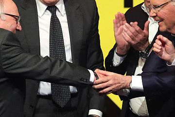 德国足球名人堂落成仪式 贝肯鲍尔领衔众名宿出席