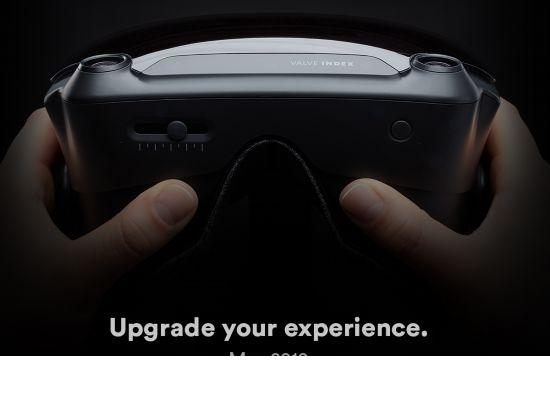 Steam版VR来了 V社将公布一款名为Index的VR设备