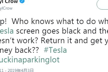 马斯克通过Twitter修复了格莱美获奖歌手的特斯拉屏幕亮度问题