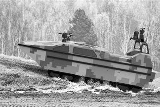 """下海、抢滩、隐身首款水陆两栖无人艇""""军民融合造"""""""