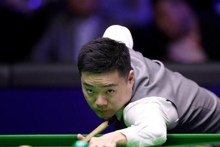 斯诺克中国公开赛:丁俊晖对阵瓦塔纳