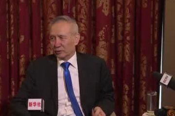 刘鹤在华盛顿说:中国不怕 中华民族也不怕(视频)