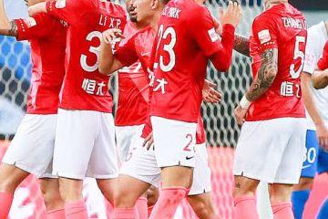 中超-恒大客场3-0泰达豪取8连胜 埃神迎回归首球