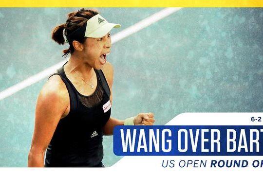 再创历史!王蔷完胜世界第二晋级美网8强 世界排名首进前十