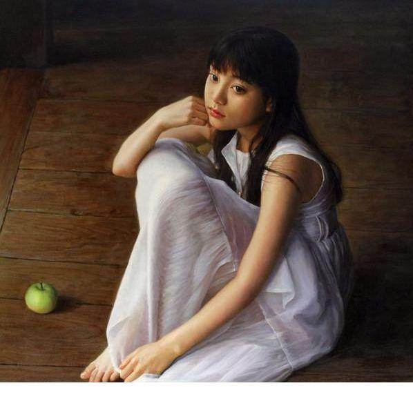 青春靓丽——年轻艺术家人体油画中的美少女