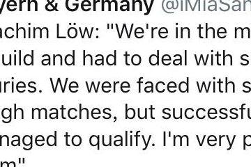 勒夫:德国队不是欧洲杯热门,英法比西均领先我们