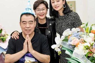 50岁陈红出镜为陈凯歌庆生,身材仍像20岁少女,健身真的可以年轻