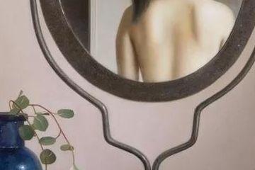 日本艺术家超写实人体油画中的少女,万种风情