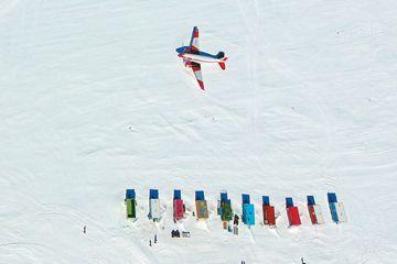 在南极迎新年