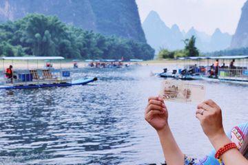 桂林漓江上的千年古镇,人民币20元的背景图就拍摄于这里