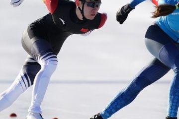 组图:冬青奥会速度滑冰混合团体追逐赛赛况