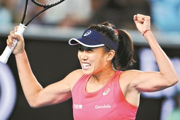 澳网公开赛揭开战幕张帅爆冷逆转美网冠军