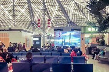 春运期间,上海南站人员萧条,网友:莫非来错了车站?